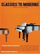 Picture of Classics To Moderns Intermediate Piano (MFM 37)