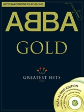 Picture of ABBA Gold Alto Saxophone Playalong Bk/CD