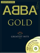 Picture of ABBA Gold Violin Playalong Book/CD