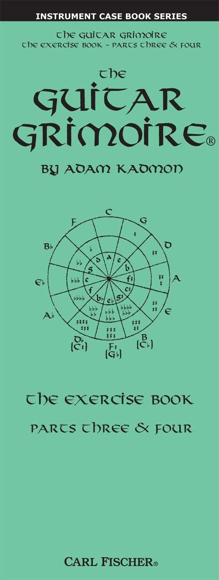 Devirra Music Guitar Grimoire Exercise Book 3 4 Case Book