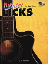 Picture of Country Licks for Guitar Bk/Cd