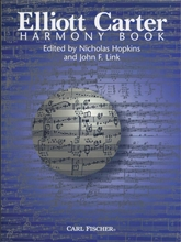 Picture of Elliot Carter Harmony Book