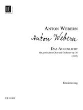 Picture of Das Augenlicht Op 26 Vocal Score