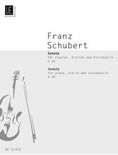 Picture of Sonata for Piano Violin and Cello D 28