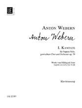Picture of Cantata No 1 Op 29 Vocal Score