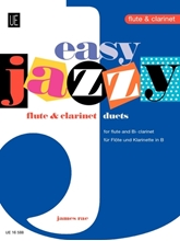 Picture of Easy Jazzy Duets Flute & Clarinet