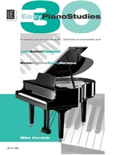 Picture of 30 Easy Piano Studies in Classical Jazz Rock & Latin Style