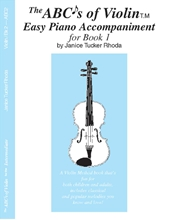 Picture of ABCs Of Violin Bk 1 Easy Piano Acc