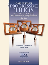 Picture of Progressive Trios For Strings Bass