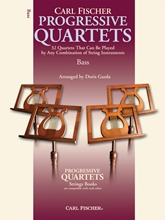 Picture of Progressive Quartets For Strings Bass