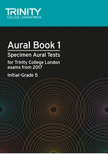 Picture of Trinity Aural Tests Book 1 from 2017 Initial-Grade 5
