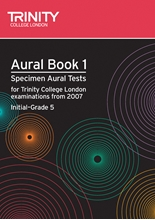 Picture of Trinity Aural Tests from 2007 Initial - Grade 5 Book/CD