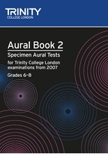 Picture of Trinity Aural Tests from 2007 Grades 6-8 Book/CD