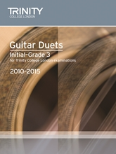 Picture of Trinity Guitar Duets 2010-15 Initial-Grade 3