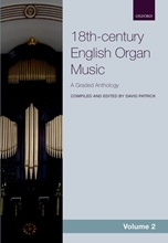 Picture of 18th Century English Organ Music Volume 2
