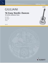 Picture of 16 Easy Nordic Dances for Guitar Op 147