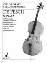 Picture of Sonata No 3 in D Min Op 8 Cello