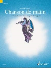 Picture of Chanson De Matin Collection For String Quartet