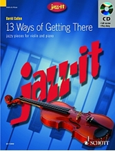 Picture of 13 Ways Of Getting There Violin/Piano - Book/Cd