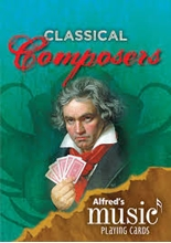 Picture of Alfred's Music Playing Cards: Classical Composers