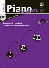 Picture of Piano For Leisure Gr 3 - Gr 4 Series 3 CD/Notes