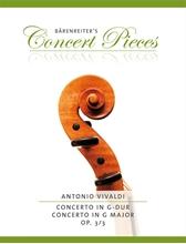 Picture of Vivaldi Concerto in G Major Op 3 No 3 Violin/Piano