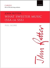 Picture of What Sweeter Music SSA & String Ochestra - Score