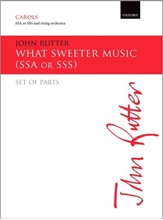 Picture of What Sweeter Music SSA & String Ochestra- Parts
