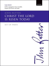 Picture of Christ the Lord is Risen Today SATB & Brass Ensemble - Parts