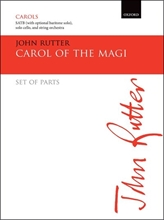 Picture of Carol of the Magi SATB & String Orch - Parts