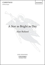Picture of A Star As Bright as Day SATB/Piano