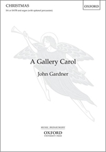 Picture of A Gallery Carol SATB/Organ