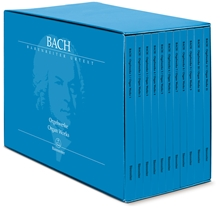 Picture of Bach Complete Organ Works 11 Volume Set