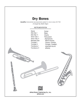Picture of Dry Bones SoundPax Instrumental Parts
