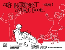 Picture of Orff Instrument Source Book Volume 1
