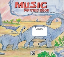Picture of Alfred's Basic Music Writing Book