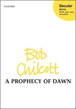 Picture of A Prophecy of Dawn SATB/Violin/Organ