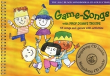 Picture of Game-Songs with Prof Doggs Troupe Bk/CD