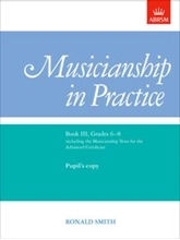 Picture of ABRSM Musicianship in Practice Book III Grades 6-8