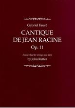 Picture of Cantique de Jean Racine Full Score