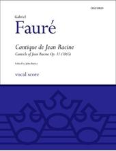 Picture of Cantique de Jean Racine SATB Vocal Score