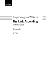 Picture of The Lark Ascending for String Sextet - Score