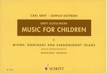 Picture of Music For Children Volume 5 - Minor Dominant & Subdominant Triads