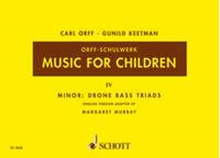Picture of Music For Children Volume 4 - Minor Drone Bass Triads