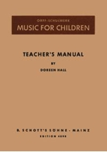 Picture of Music for Children Teacher's Manual