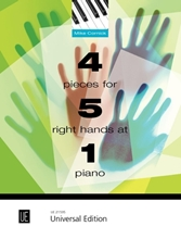 Picture of 4 Pieces for 5 Right Hands at 1 Piano