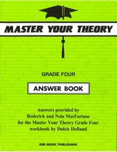 Picture of Master Your Theory Answer Book Grade 4