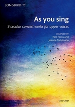 Picture of As You Sing SSA- Songbird Voices