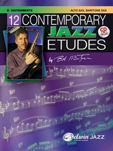 Picture of 12 Contemporary Jazz Etudes E Flat Instruments Book/Cd