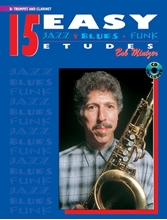 Picture of 15 Easy Jazz Blues & Funk Etudes B Flat Trumpet Clarinet Bk/Cd